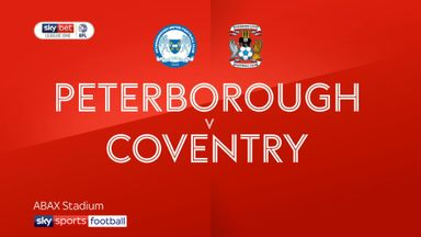 Peterborough 1-2 Coventry