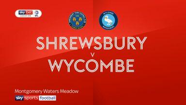 Shrewsbury 2-1 Wycombe