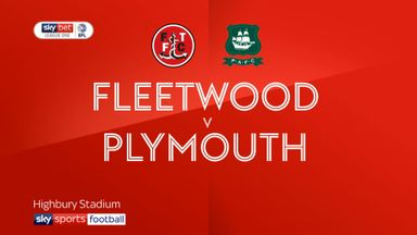 Fleetwood 2-0 Plymouth