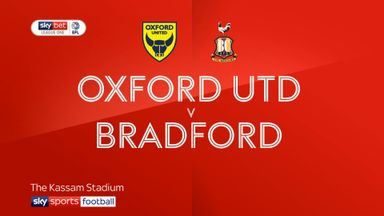Oxford 1-0 Bradford