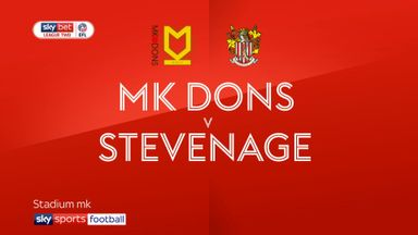 MK Dons 1-1 Stevenage