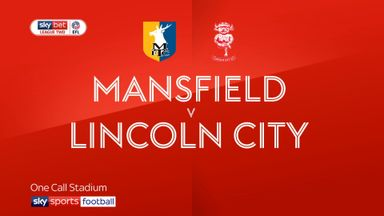 Mansfield 1-1 Lincoln