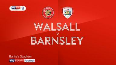 Walsall 0-1 Barnsley