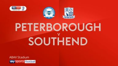Peterborough 2-0 Southend