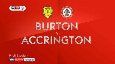 Burton 5-2 Accrington