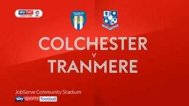 Colchester 0-2 Tranmere