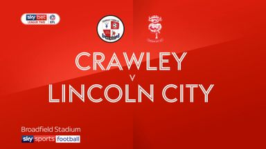 Crawley 0-3 Lincoln