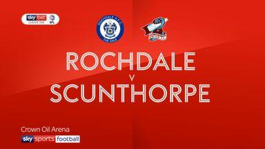 Rochdale 3-1 Scunthorpe