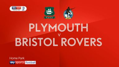 Plymouth 2-2 Bristol Rovers