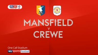 Mansfield 1-2 Crewe