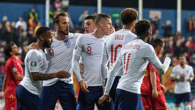 Montenegro 1-5 England