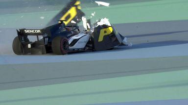 Huge crash in F2 qualy