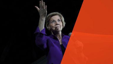 Senator Elizabeth Warren proposed breaking up the tech companies