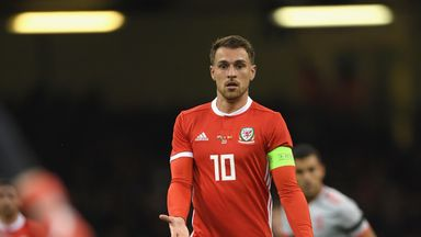 Giggs: Ramsey out of Trinidad clash