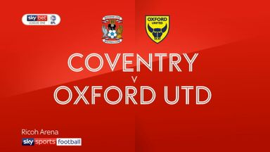 Coventry 0-1 Oxford Utd