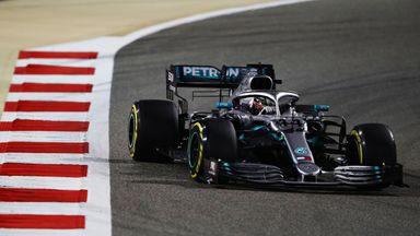 Hamilton overtakes Leclerc for lead