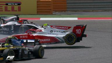 F2: Bahrain Race 1 Highlights