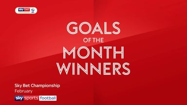 Goal of the month winners: February