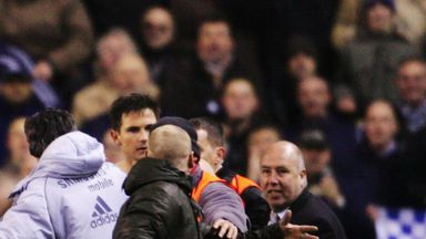 Lampard: Too lenient on fan assaults