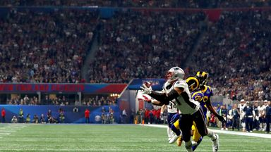 Gronk's final catch