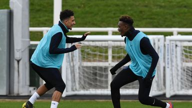 Southgate: Sancho, Hudson-Odoi are ready