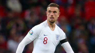 'Proud' Henderson prepares for 50th cap