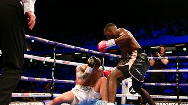 'Buatsi was vicious tonight'
