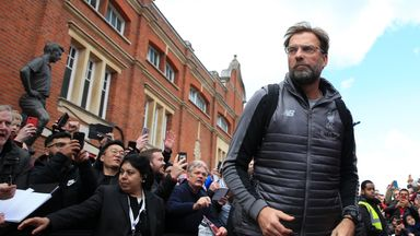 Klopp thanks 'unbelievable' support