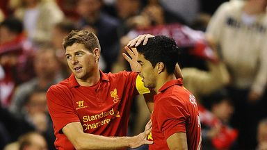 Suarez: Gerrard stopped Arsenal move