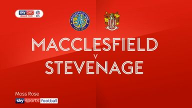 Macclesfield 2-2 Stevenage