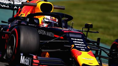 Verstappen overtakes Vettel