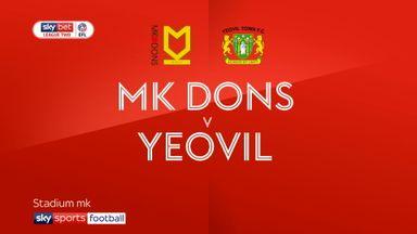 MK Dons 2-0 Yeovil