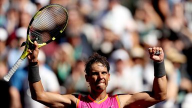 Nadal eases into fourth round