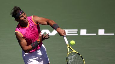 Nadal storms into quarter-finals