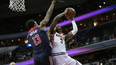 Nuggets 113-108 Wizards