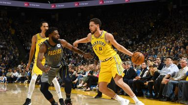 Pacers 89-112 Warriors