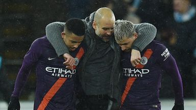 Pep 'praying' for injury-free break