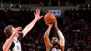 Spurs 105-111 Rockets