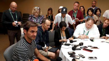 Federer: Pressure is off