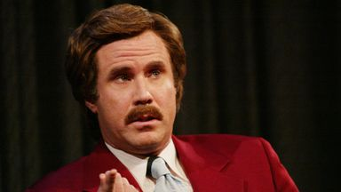 Ron Burgundy turns NHL pundit!