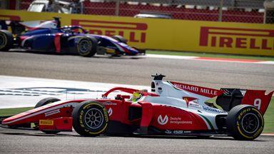 Schumacher 8th on F2 debut