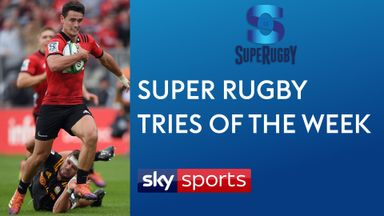 Super Rugby Tries of the Week