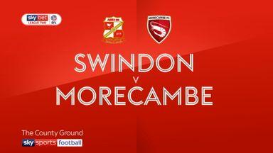 Swindon 4-0 Morecambe