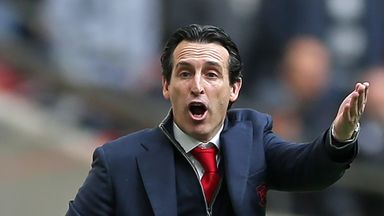 Emery wants 'big Arsenal atmosphere'