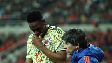 Silva rues Mina injury