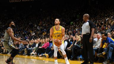 Curry's step-back buzzer-beater