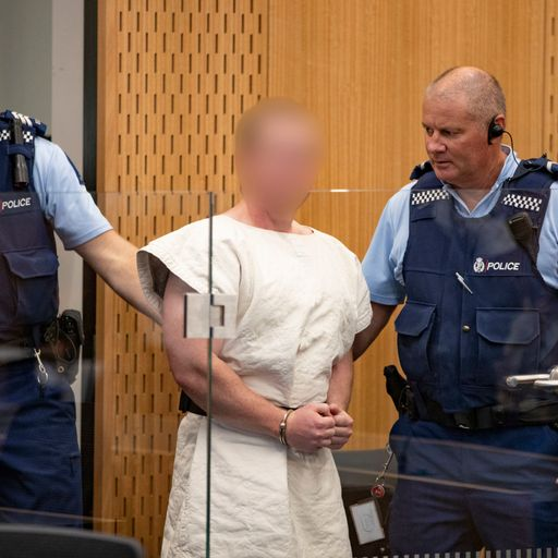 NZ mosque shooting suspect's manifesto sent to PM's office before attack