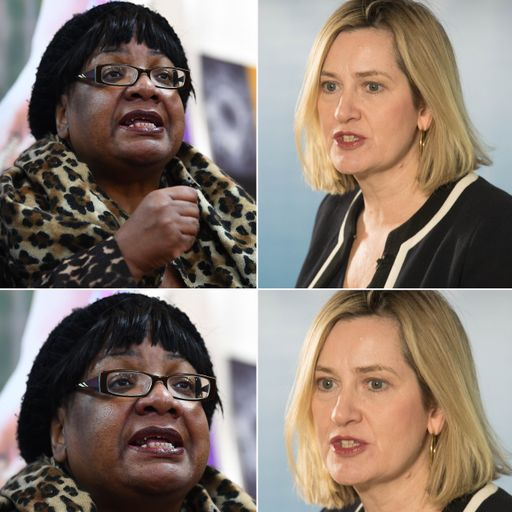 Rudd 'mortified' at describing Diane Abbott as 'coloured'