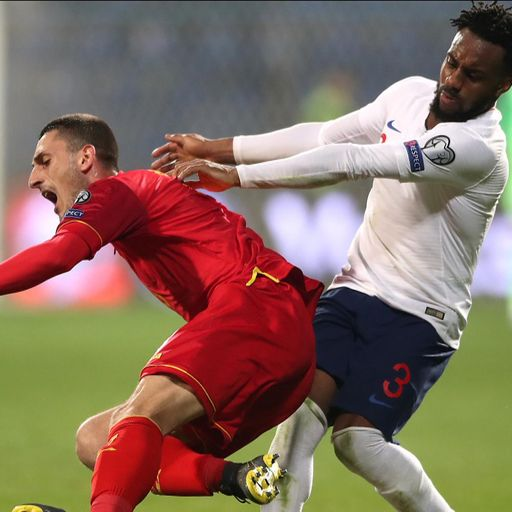 Montenegro face racist abuse charges after Danny Rose targeted in England game