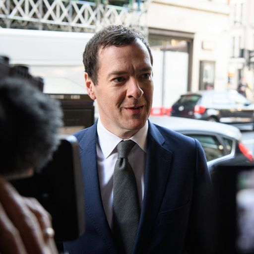 George Osborne tells Tories to 'fix Islamophobia problem'